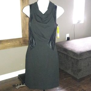 Women's sz 0 Gianni Bini little black dress Nwt